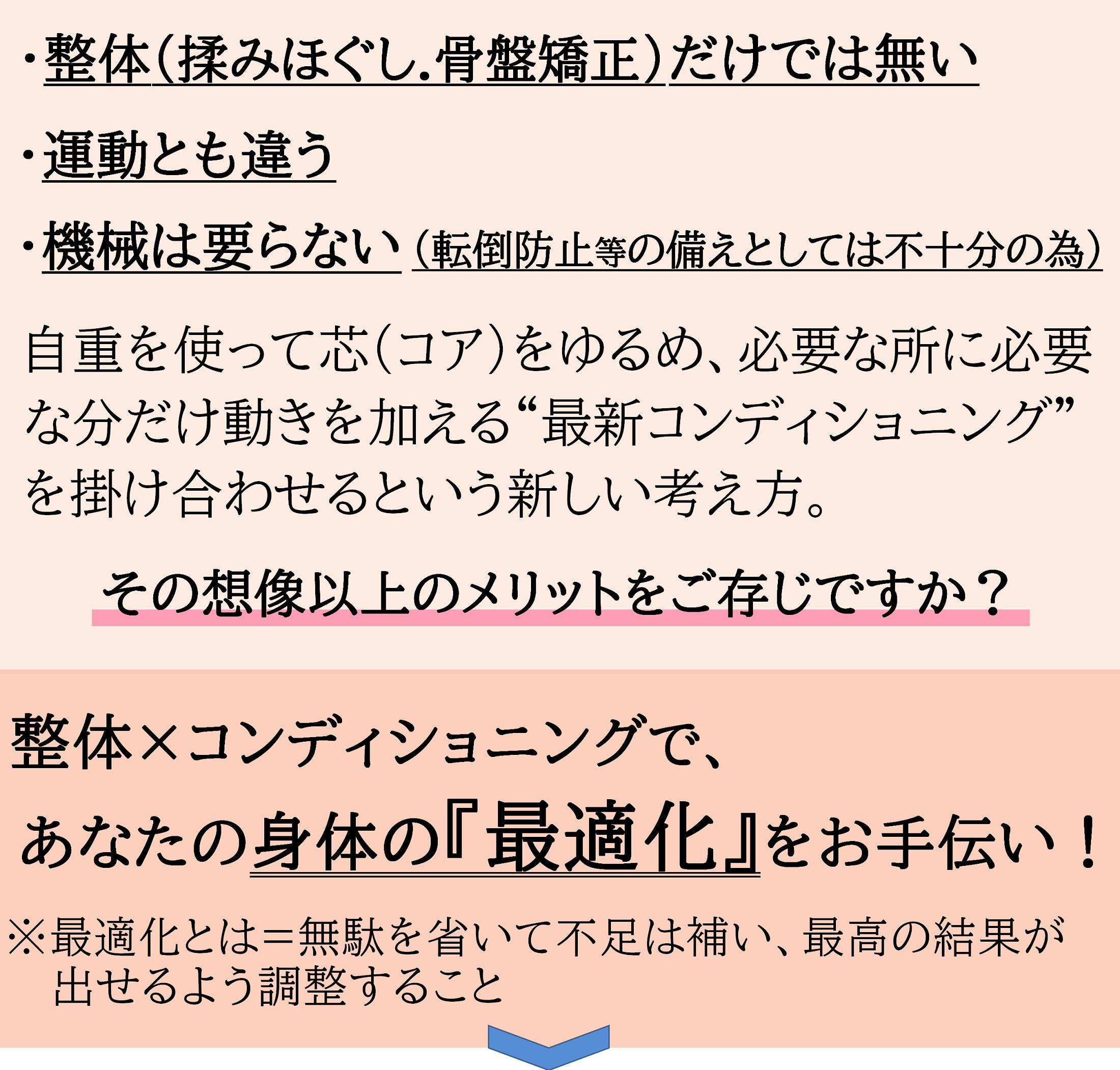 長野県駒ケ根市の整体ピースであなたの体も最適化